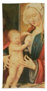 The Holy Family Beach Towel