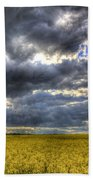 The Impending Storm Beach Towel