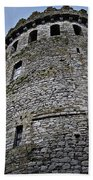 The Keep At Nenagh Castle Ireland Beach Towel