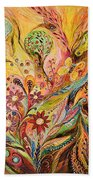 The Life Of Butterfly Beach Towel