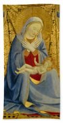 The Madonna Of Humility Beach Towel