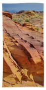 The Many Colors Of Valley Of Fire Beach Towel