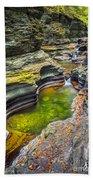 The Narrows Of Watkins Glen Beach Towel