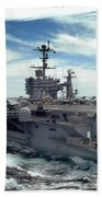 The Nimitz-class Aircraft Carrier Uss Beach Towel