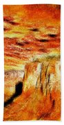 The Painted Desert Beach Towel