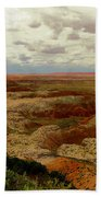 Viewpoint In The Painted Desert Beach Towel