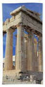 The Parthenon Acropolis Athens Greece Beach Towel