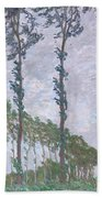 The Poplars Beach Towel