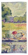 The Promenade In The Bois De Boulogne Beach Towel
