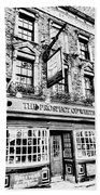 The Prospect Of Whitby Pub London Art Beach Towel
