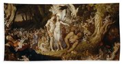 The Reconciliation Of Oberon And Titania Beach Sheet