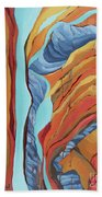 The Rocks Cried Out, Zion Beach Towel by Erin Fickert-Rowland