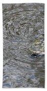 The Swimming Turtle Beach Towel