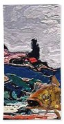 The Unimaginable Dream Of The Fish 22 Beach Towel