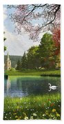 The Valley Cottage Variant 1 Beach Towel