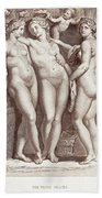 Three Graces Beach Towel
