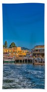 Tiburon Waterfront Beach Towel