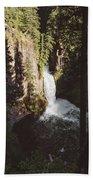 Toketee Falls Beach Towel