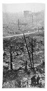 Tokyo Earthquake, 1923 Beach Sheet