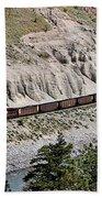 Train Beach Sheet