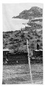 Transcontinental Railroad Beach Towel