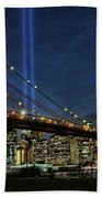 Tribute In Light # 1 Beach Towel