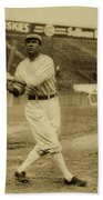 Tris Speaker With Boston Red Sox 1912 Beach Towel