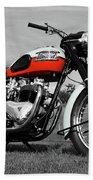 Triumph Bonneville 1959 Beach Sheet