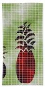 Tropical Fruit Beach Towel