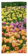 Tulips Galore  Beach Sheet