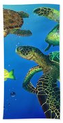 Turtle Towne Beach Towel