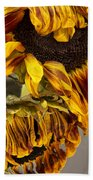 Two Sunflowers Tournesols Beach Towel
