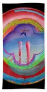 Two Towers Beach Towel