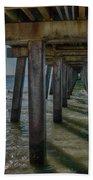 Under The Naples Pier Beach Sheet