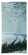 Underwater Barrel Beach Towel