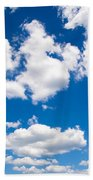 Up In The Sky Beach Towel