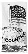 U.s. Flag, 19th Century Beach Towel
