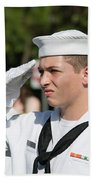 Us Naval Sea Cadet Corps - Gulf Eagle Division, Cape Coral, Florida Beach Towel