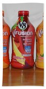 V8 Fusion Beach Towel