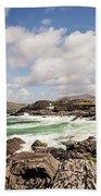 Valentia Island Lighthouse Beach Towel