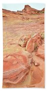 Valley Of Fire's Wash 3 Beach Towel