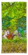 Vegetable Garden Beach Sheet