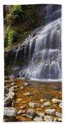 Veu Da Noiva Waterfall Beach Towel