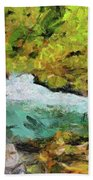 Vintgar Gorge Beach Towel