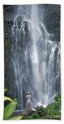 Wailua Falls Beach Towel