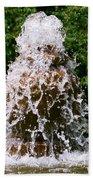 Water Fountain  Beach Towel