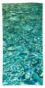 Water Patterns Beach Towel