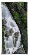Waterfall In Cradle Mountain Beach Towel