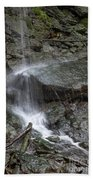 Waterfall Stream Beach Towel