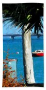 Watford Bridge From Cambridge Beaches Beach Towel